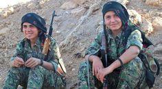 Buongiorno Link: Le donne di Kobane: le più belle del mondo