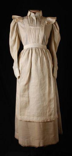 Maids uniform. 1890-1905