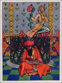 Illustrations for The Garden of Kama; Published in 1914, by John Byam Liston Shaw