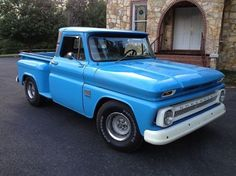 1966 chevy cars and trucks | chevrolet c 10 1966 chevrolet c10 truck year 1966 mileage 1 color blue ...