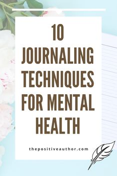 journaling techniques for mental health mental health writing writing therapy journaling CBT therapy Mindfulness journal prompts self care journaling journal ideas bullet journal Mental Health Journal, Improve Mental Health, Mental Health Quotes, Mental Health Issues, Mental Health Awareness, Mental Health Therapy, Positive Mental Health, Cbt Therapy, Writing Therapy