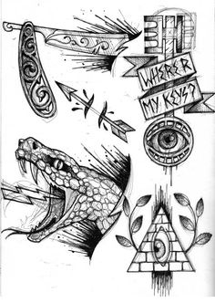 Tattoo sketches 537054324294627720 - untitled – Sketches – Lea Nahon – Tattoos & Paintings Source by nomanslandflo Traditional Tattoo Old School, Traditional Tattoo Flash, Tattoo Flash Sheet, Tattoo Flash Art, Future Tattoos, New Tattoos, Black Tattoos, Tattoo Sketches, Tattoo Drawings