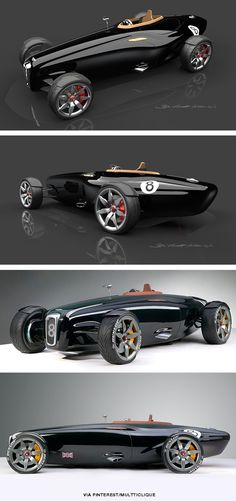 A very pure concept design, but I'm not quite sure where it's going - Bentley Barnato Roadster.KA very pure concept design, but I'm not quite sure where it's going - Bentley Barnato Roadster. Auto Retro, Roadster, Sexy Cars, Amazing Cars, Awesome, Car Car, Sport Cars, Exotic Cars, Custom Cars