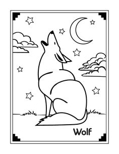 Cute+Wolf+Coloring+Pages   Wolf Coloring Pages - Free Printable Pictures Coloring Pages For Kids