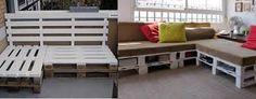 Resultado de imagen para muebles hechos con palets de madera paso a paso