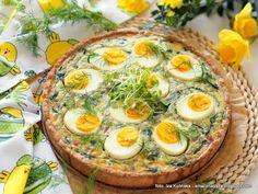 tarta_ze_szpinakiem_i_jajkami Avocado Egg, Avocado Toast, Iced Tea, Poultry, Food And Drink, Eggs, Breakfast, 3, Blog