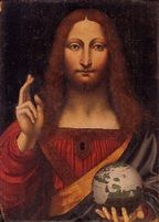 View Christ as Salvator Mundi by Leonardo da Vinci on artnet. Browse upcoming and past auction lots by Leonardo da Vinci. Salvator Mundi, Famous Artwork, Last Supper, Cartography, Geology, Astronomy, Jesus Christ, Renaissance, Catholic