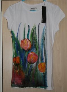 I love painted T's