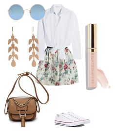 """""""•Boston Summertime Sadness•"""" by bellangelajames on Polyvore featuring Raoul, Maje, Irene Neuwirth, Sunday Somewhere and Converse"""