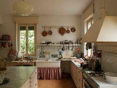 The film's set kitchen.
