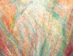 Keijun synty -postikortti Pastellikuva: Sinikka Tompuri (Sara)