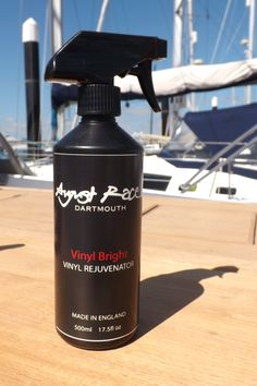 The August Race Vinyl Bright Revival Kit gives an unrivalled deep restorative treatment dramatically improving the appearance of even old dull upholstery. Floating Boat Docks, Spray Bottle, Restoration, How To Apply, Racing, Cleaning, Bright, Running, Auto Racing