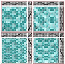 Afbeeldingsresultaat voor 4 shaft deflected double weave