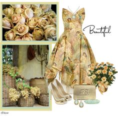 """""""Beautiful Florals"""" by diane-shelton on Polyvore"""