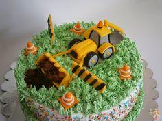 Make me a cake: Digger cake topper tutorial