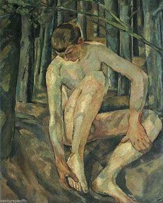 St. Ingbert : Albert Weisgerber : circa 1914 [Nude Male] ... http://www.amazon.com/dp/B01G985M86/ref=cm_sw_r_pi_dp_8pksxb1H28SDW