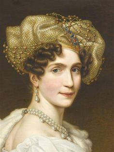 Auguste-Amélie de Bavière by Joseph Karl Stieler (1781-1858)