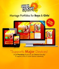 All New Marriage Biodatas! Tailor Made Biodatas for everyone. Just Browse, Select, Order! click the link below for more details http://shubhparichay.in