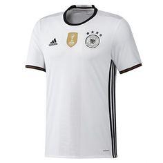 Adidas เสื้อฟุตบอล Germany 2016 Home Replica. Adidas Football, Football Shirts, Germany Football, Walmart Deals, Country Sweatshirts, Matching Shirts, Mon Cheri, Geek, Germany