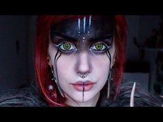 Wikinger Krieger Make-up Viking Warrior, Female Viking, Viking Woman, Makeup Inspo, Makeup Inspiration, Makeup Ideas, Krieger Make-up, Viking Face Paint, Wolf Face Paint
