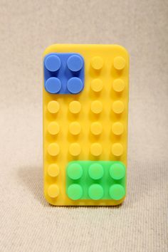 Yellow Colour Block iPhone Case