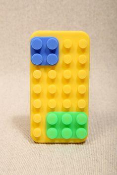 Yellow Colour Block iPhone Case