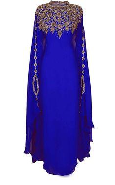 Athena Kaftan for Women Long Sleeve Chiffon Maxi Dress Formal Gown Evening Dress Moroccan Kaftan Dress, Caftan Dress, Chiffon Maxi Dress, Kaftan Abaya, Dashiki Dress, Hijab Dress, Abaya Fashion, Muslim Fashion, Fashion Dresses