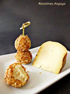 croquetas de queso con kikos