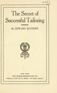 The secret of successful tailoring