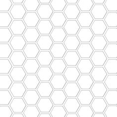 hexagon pattern template 12 and a half inch sq mel stampz Hexagon Pattern, Hexagon Quilt, Scroll Pattern, Stencils, English Paper Piecing, Digi Stamps, Copics, Pattern Paper, Printables