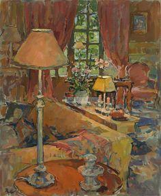 Susan Ryder Grand Salon Lamps, L'Eveche