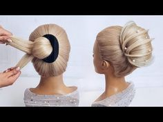Beautiful hairstyles step by step. Hairstyle for prom. Easy and fast hairstyle -… – Easy Hair Styles Chic Hairstyles, Beautiful Hairstyles, Braided Hairstyles, Chignon Hair, Hair Upstyles, Step By Step Hairstyles, Hair Videos, Hair Designs, Prom Night