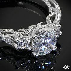 Verragio designer rings Verragio Braided 3 Stone Engagement Ring  from the Verragio Insignia Collection.