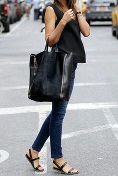 shopper bag / shoes :))