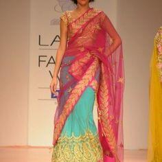 Half-sarees Inspiration for Weddings: The Ultimate Wedding Inspiration. | SayShaadi.com