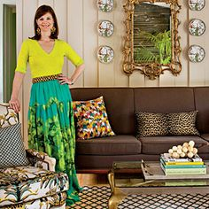 Meet the New Tastemakers: Barrie Benson loves her color! @stylebeat concurs