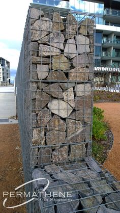 permathene.com.au Gallery (Gabions) Canberra - Kingston Foreshore : Permathene Australia, Landscaping and Environmental