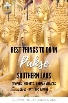 A culture-lover's guide to things to do in Pakse, Laos – including temples, markets, architecture, day trips and more. Here's what to do in Pakse. Laos Travel, Asia Travel, Japan Travel, Travel Bag, Travel Guides, Travel Tips, Travel Destinations, Travel Info, Travel Hacks