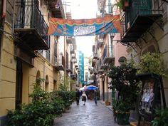 Via Bara all'Olivella Palermo