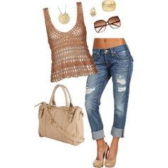 Simple & Pretty, created by natalie-moore-taras on Polyvore