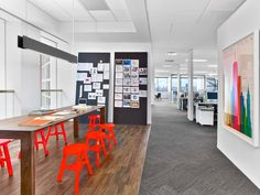 Imagen 7 de 13 de la galería de Oficina Saatchi & Saatchi Nueva York / M Moser Associates. Fotografía de Eric Laignel