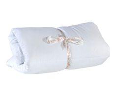 Piumone per lettino in cotone basic 95x145 cm Colore bianco  ad Euro 25.00 in #Hibas oto bil tekstil gida #Textilesrugs duvetspillows