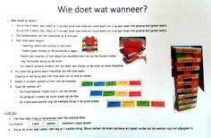Taal-Jenga! Goed aan te passen in de kleuren van Zien is snappen #Zienissnappen #nt2 Jenga, Spelling, Education, School, Schools, Teaching, Onderwijs, Games, Learning