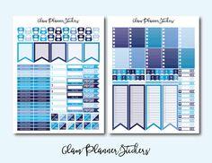 50% OFF SALE Mega Monthly Ocean Printable by GlamPlannerSticker