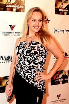 Katherine Norland on the Red Carpet for Least Among Saints October 2012