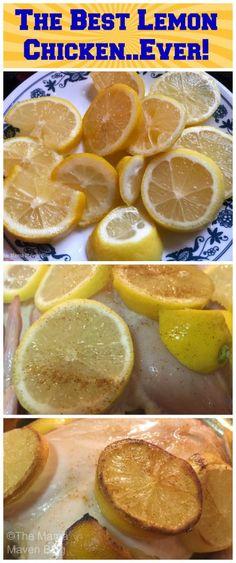 The Best Lemon Chicken…Ever!  @themamamaven | themamamaven.com