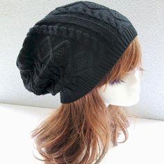 Fashion Women New Design Caps Twist Pattern Women Winter Hat Knitted S – Hespirides Gifts
