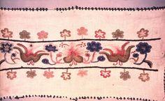 Embroidery from Kunság/Kun szőrhímzés.Néprajzi Múzeum | Online Gyűjtemények - Etnológiai Archívum, Diapozitív-gyűjtemény