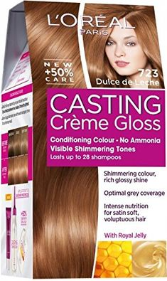 Introducing Loreal Paris Casting Creme Gloss Hair Colourant 723 Dulce de Leche. Get Your Ladies Products Here and follow us for more updates!