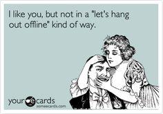 Online dating ...